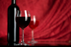 Wine in a glass Royalty Free Stock Image