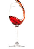 Wine in glass Stock Image