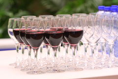 Wine & Glass Stock Photos
