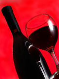 Wine of glass Royalty Free Stock Image