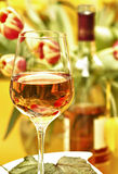 Wine in a glass Royalty Free Stock Images