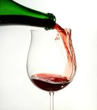 Wine glass Royalty Free Stock Images