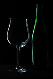 Wine glass. Alcohol, beverage, bubbles, celebrate, cheers, chill, dinner, drunk Royalty Free Stock Image