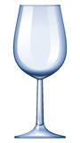 Wine glass. No mesh or transparency, blend and gradient only Stock Photo