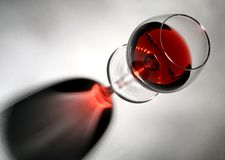 Wine glass. Background Stock Image