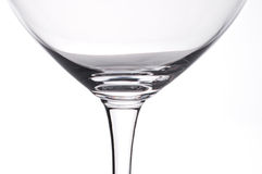 Wine glass in the backglight Royalty Free Stock Photo