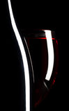 Wine glass and bottle. Still Life of Wine glass and bottle royalty free stock photos