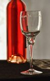 Wine glass closeup Stock Photo