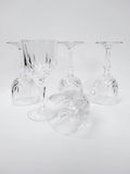 Wine glass compose Royalty Free Stock Image