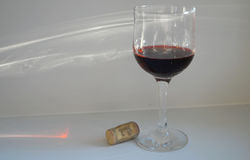 Wine glass Stock Images