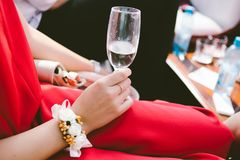 wine-glass royalty free stock image