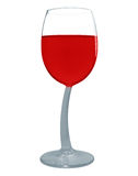 Wine in a glass isolated - Red Royalty Free Stock Photography