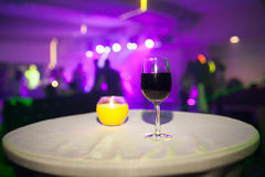 Wine glass Stock Photography