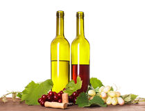 Wine in glass Stock Photo