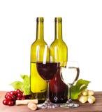 Wine in glass Stock Image