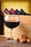 Wine Glass Still Life Stock Photo