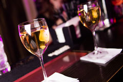 Wine in glass Royalty Free Stock Image