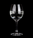 Wine Glass with water Royalty Free Stock Images