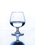 Wine glass with water Stock Image