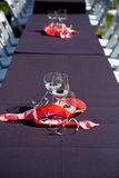 Wine Glass Wedding Reception Royalty Free Stock Photos