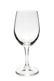 Wine glass. On the white background Royalty Free Stock Image