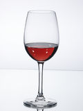 Wine glass with wine Stock Photography