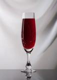 Wine. Glass of wine on gray background Stock Photo