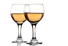 Wine glasses Stock Photos