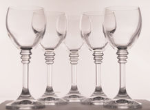 Wine glasses Royalty Free Stock Photography
