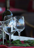 Wine glasses Stock Photography
