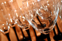 Wine Glasses.  Royalty Free Stock Images