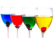 Wine-glasses Royaltyfri Fotografi