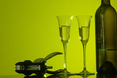 Free Wine Glasses Royalty Free Stock Images - 812479