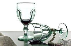 Wine glasses  Stock Image