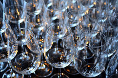 Wine glasses abstract background Royalty Free Stock Images