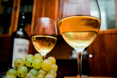 Wine in the glasses Royalty Free Stock Photos