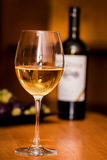 Wine in the glasses Royalty Free Stock Images