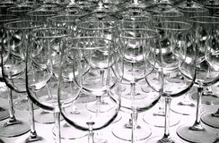 Wine glasses for tasting. Stock Photography