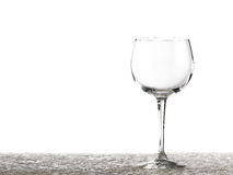 Wine glasses various Stock Images