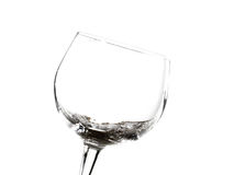 Wine glasses various Stock Photos
