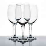 Wine glasses. On a white background Stock Image