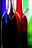 Wine Glassware Abstract Design Stock Photography