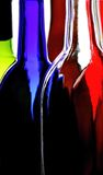 Wine Glassware Abstract Design. Abstract Wine Glassware Background Design Stock Image