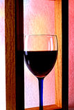 Wine Glassware Background Design Stock Photography