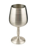 Wine goblet isolated on white Stock Photo