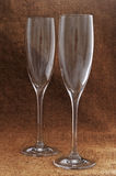 Wine goblets. Royalty Free Stock Image