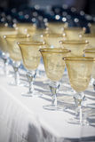 Wine goblets Royalty Free Stock Photos