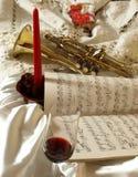 Wine&Gorn royalty free stock photos