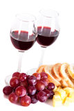 Wine and gourmet food Royalty Free Stock Photography