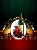 Wine and grapevine Stock Photo